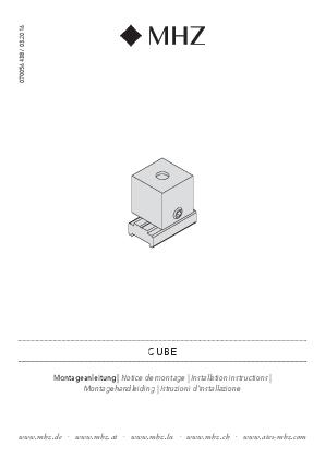Installation instructions Cube bracket