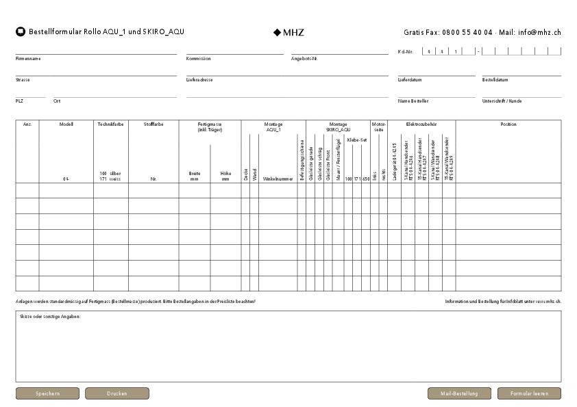 Bestellformular Rollo SKIRO-AQU, AQU_1