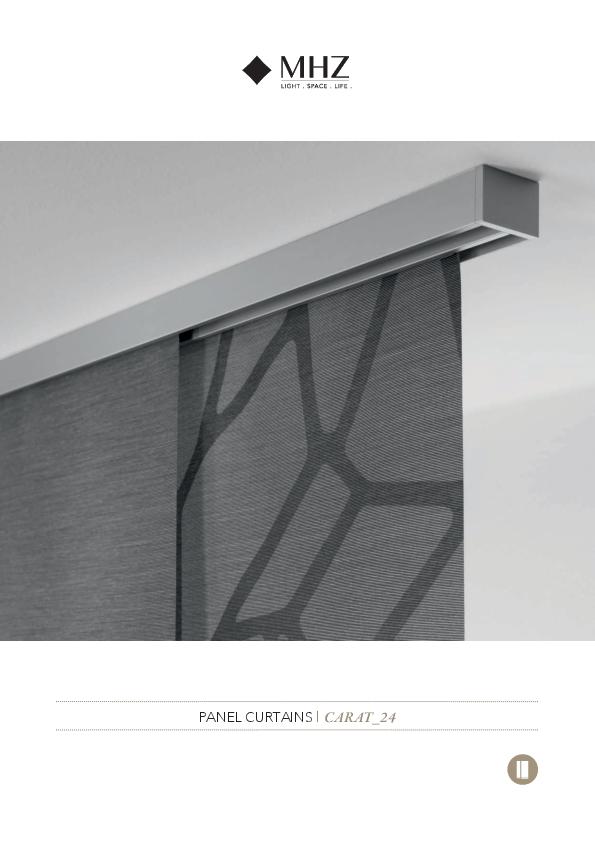 Brochure panel blind CARAT_24