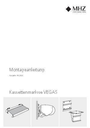 Montageanleitung Kassettenmarkise VEGAS