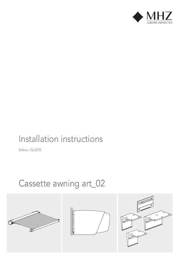 Notice de montage store banne avec coffre art_02