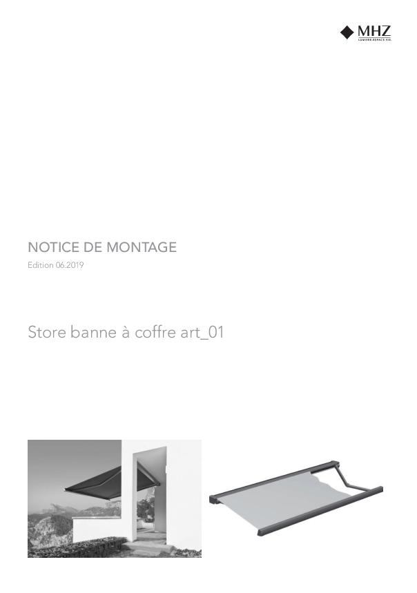 Notice de montage store banne à coffre art_01
