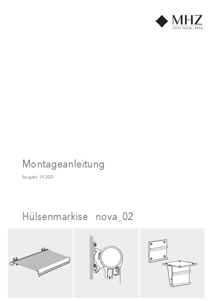 Montageanleitung Hülsenmarkise nova_02