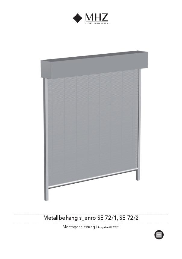 Montageanleitung Metallbehang s_enro