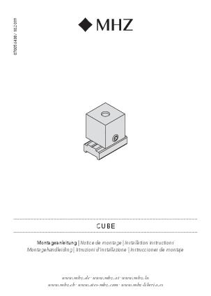 Montagehandleiding Cube steun
