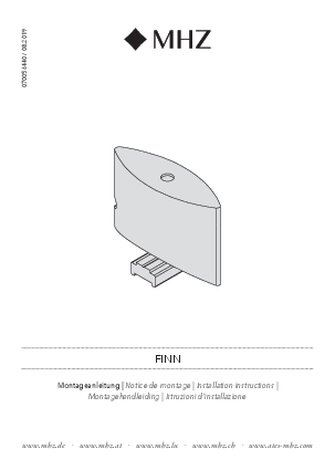 Installation instructions Finn bracket