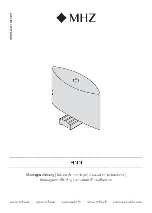 Istruzioni d'installazione Finn supporto