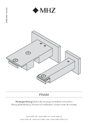 Installation instructions Finum bracket