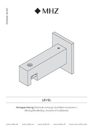 Installation instructions Level bracket