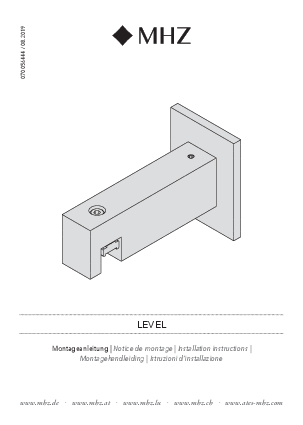 Installation instructions Level bracket