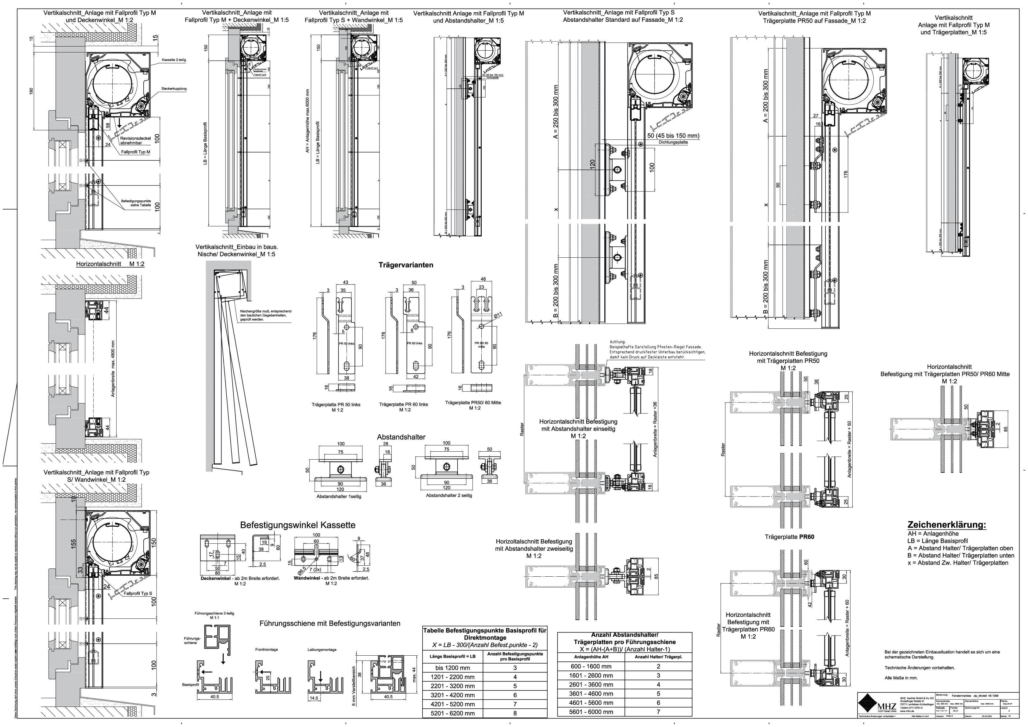 Technische Zeichnung pdf Fenstermarkisen zip_2.0 48-1068